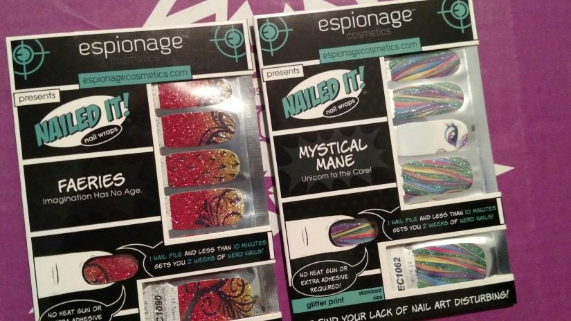 EC Boom Box Mystical Mane and Fairies Nail Wraps